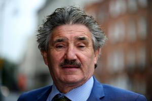 Former junior minister John Halligan, who retired this year