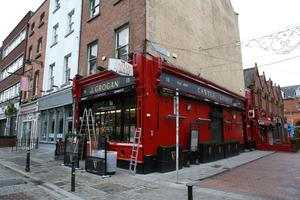 Grogan's pub on South William Street, which has been shut for much of the year