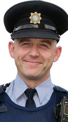 Garda David Hearne has been praised for his courage