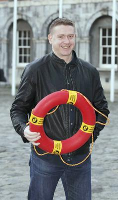 18/11/14 Irish Water Safety honoured remarkable rescuer (music artist) Damien Dempsey at George's Hall, Dublin Castle this eveningÉ Pic Stephen Collins/Collins Photos