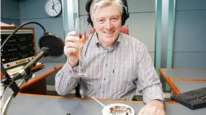 Pat Kenny pictured celebrating his 65 birthday in January. Photo: Frank McGrath