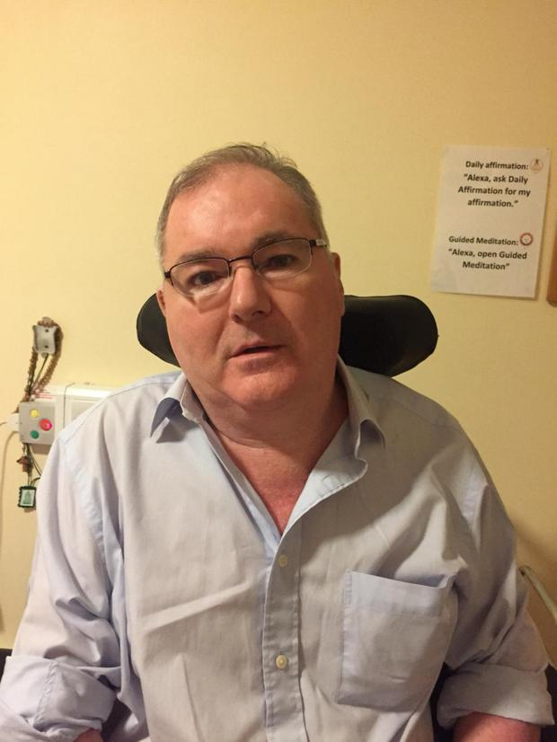 Dubliner Kevin Barron suffers from MS and osteoporosis
