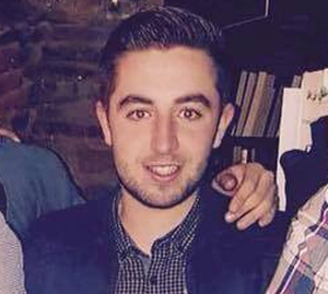 TJ Duffy (21) sustained serious head injuries