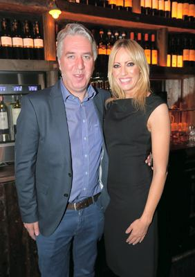 John Delaney with his partner Emma English at his birthday celebrations at House on Leeson Street. Picture credit; Damien Eagers 16/10/2014