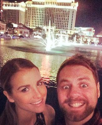 Vogue and Brian in Las Vegas