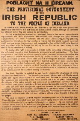 A copy of the Proclamation