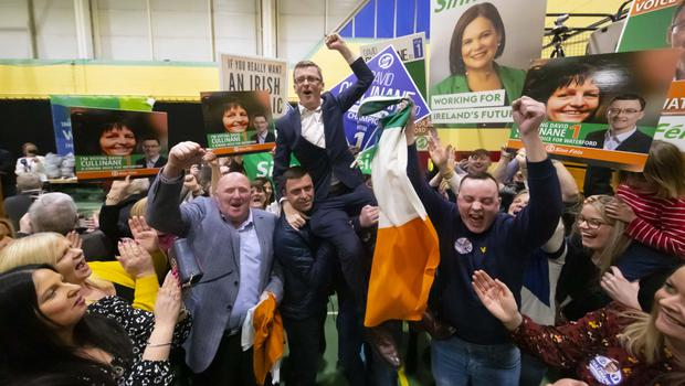 David Cullinane's remarks came as he celebrated being re-elected but he was not in the line-up unveiled by Pearse Doherty