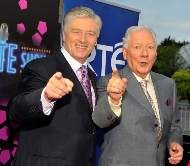 """Pat Kenny took over as host of The Late Late Show from Gay Byrne in 1999 – and it took audiences """"years"""" to accept him"""