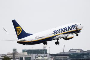 Ryanair said passenger was isolated and aircraft deep-cleaned on arrival in Dublin