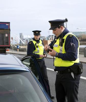 Gardaí will mount checkpoints over the coming weeks