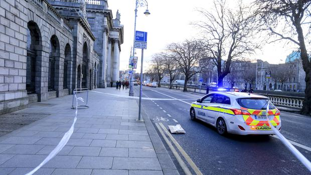 Outside the Four Courts