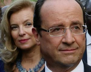 French President Francois Hollande and Valerie Trierweiler. Photo: Reuters