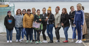 Some of the women who had been at the hen party with Ruth Maguire when she disappeared
