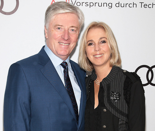 Pat Kenny and his wife Kathy