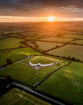 The 5,000-year-old Neolithic tomb at Newgrange
