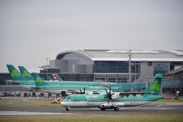 Aer Lingus staff lost their jobs yesterday