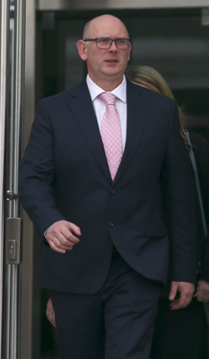 An Garda Siochana would not say if Sean Lucey was sacked after his conviction