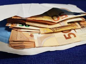 Gardai seized €3,500 in cash and €138k was frozen in three bank accounts after raids in Co Kildare
