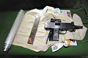 Gardai recovered this weapon from a house in Ballyfermot
