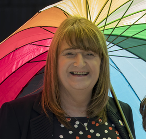 Transgender equality group chairperson Sara Phillips