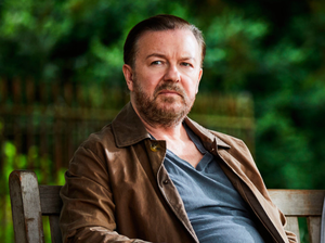 Ricky Gervais plays widower Tony Johnson in comedy. Photo: PA