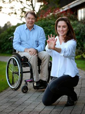 Dr Caoimhe Costigan saved her father Colm's life by performing CPR after he collapsed
