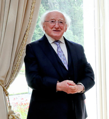 Michael D Higgins said all citizens have a duty to act