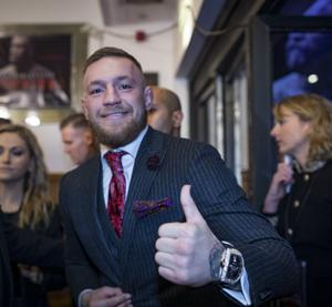 Conor McGregor is paying for protective equipment