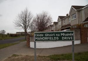 Manorfields Drive where the attempted abduction happened