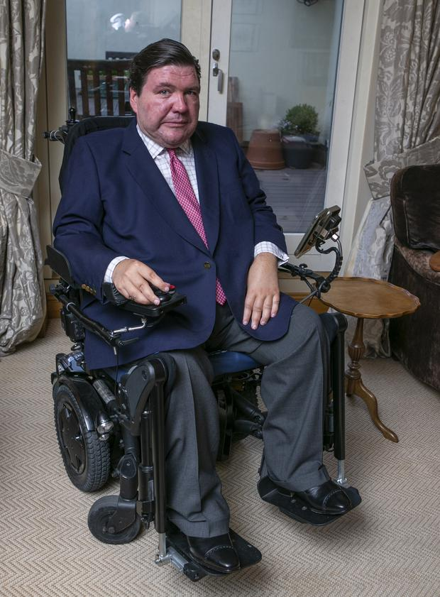 SMA type two sufferer Jonathan O'Grady from Dundrum