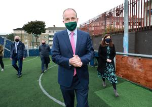 Taoiseach Michaél Martin in Dublin this week which is facing its second week of level 3 restrictions