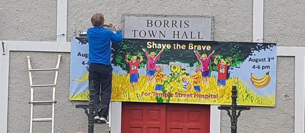 Preparations under way in Borris, Co Carlow, to raise funds for Temple Street in honour of road victim Adam Lyons (10)