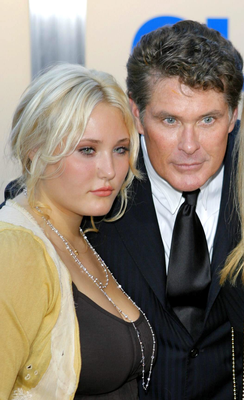 Hayley Hasselhoff and her father