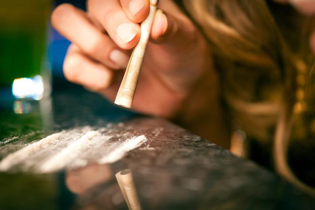 Cocaine is the second-most used drug in Ireland.
