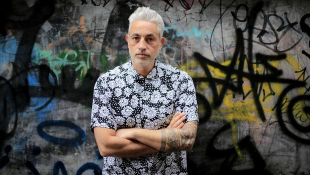 'I wanted to do something inspiring,' says Baz Ashmawy