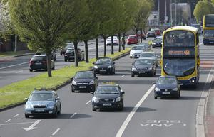 Areas on the green line in south Dublin were particularly badly hit by increased traffic due to the strike action (INM)