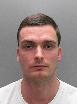 Disgraced Adam Johnson