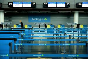 Dublin Airport has been almost deserted since lockdown began