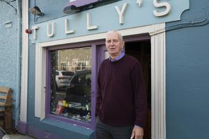 Pat Collins of Tully's Bar in Kinvara, Co Galway