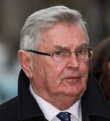 Ray MacSharry (pictured) has suggested former Trade Commissioner Phil Hogan could be replaced by Foreign Affairs Minister Simon Coveney or MEP Mairead McGuinness