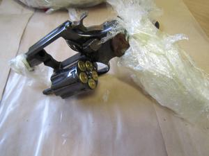 The two loaded revolvers that were discovered in the raid in Clondalkin