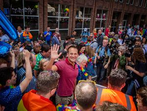 The report was drafted by Fine Gael's LGBT committee, which  includes Taoiseach Leo Varadkar as a member. Photo: Arthur Carron