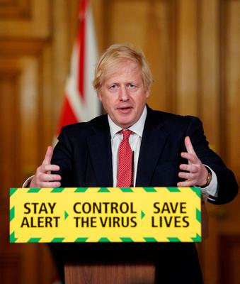 Prime minister Boris Johnson is under pressure over the UK's alarmingly high death toll