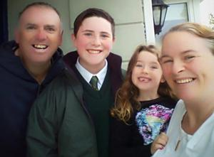 John Mullan and his children, Tomás and Amelia, died in crash that wife Geraldine survived