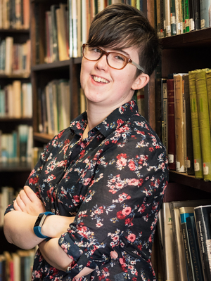 Lyra McKee died last April