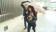 Stephanie Ng at an earlier court appearance. pic: RTE news