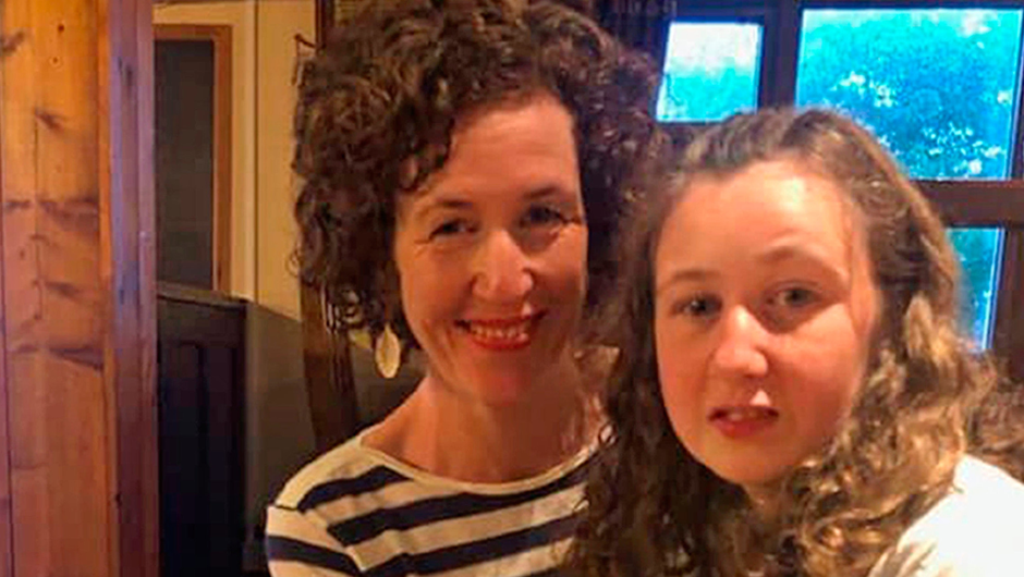 Meabh Quoirin with her daughter Nora, who was found dead after she vanished from a holiday home in Mayalsia