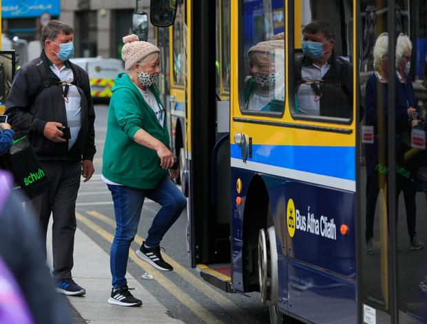 Passengers were anxious to avoid being fined