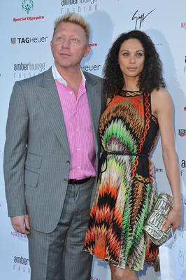 Boris Becker and wife Lilly