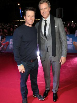 Mark Wahlberg and Will Ferrell at The Irish premiere screening of Daddy's Home at The Savoy Cinema in O Connell Street, Dublin